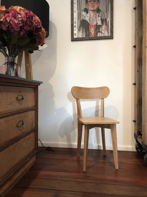 chaise bistrot naturel