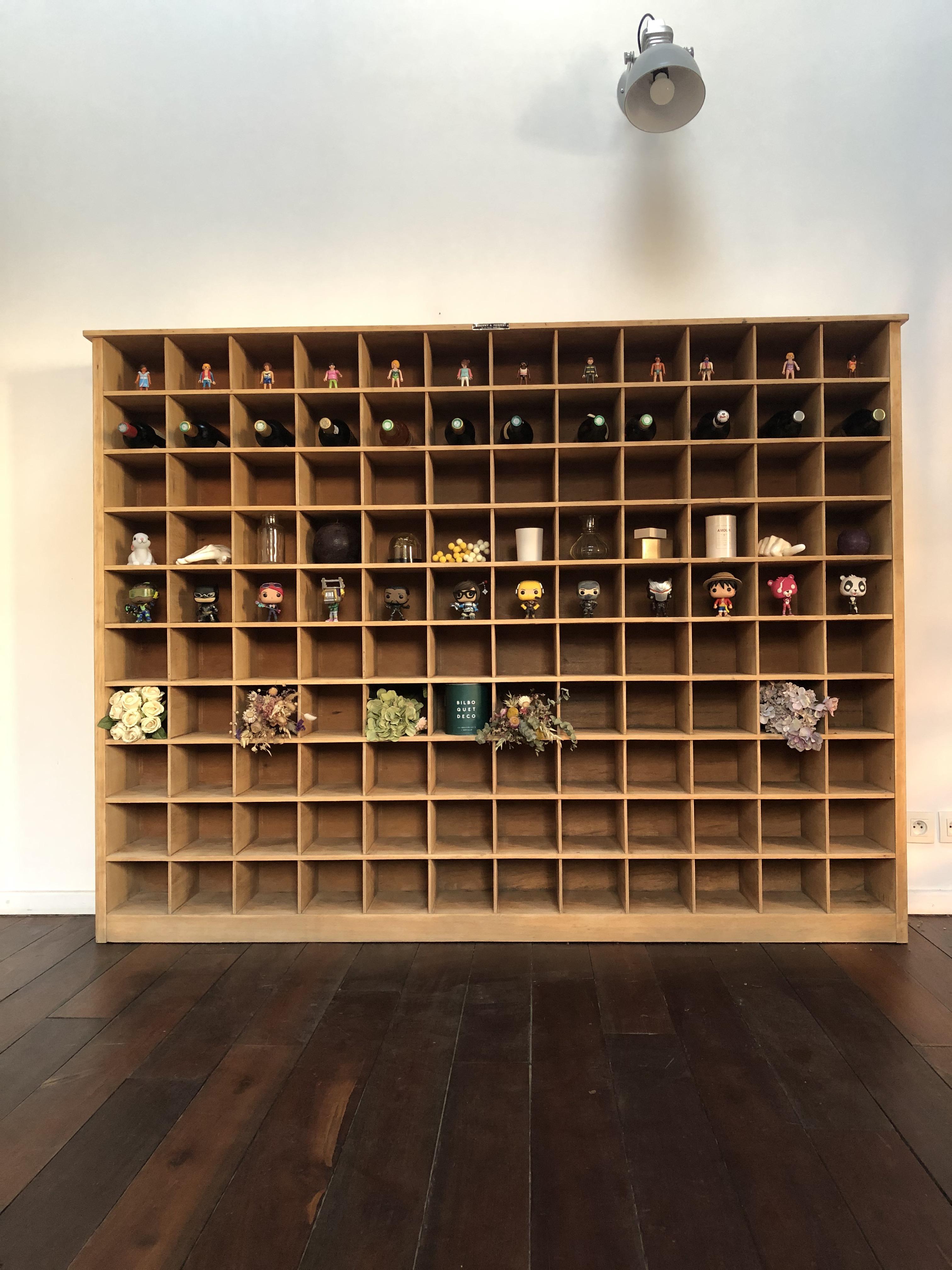 meuble à casiers Deberny & Peignot