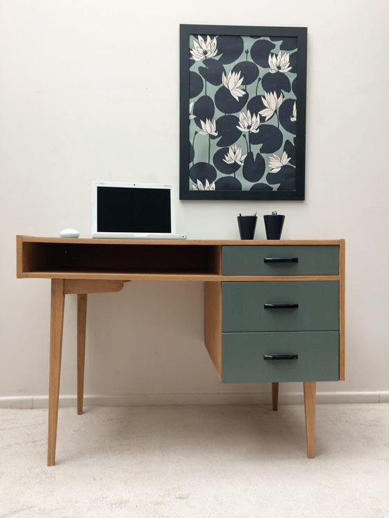 bureau années 70