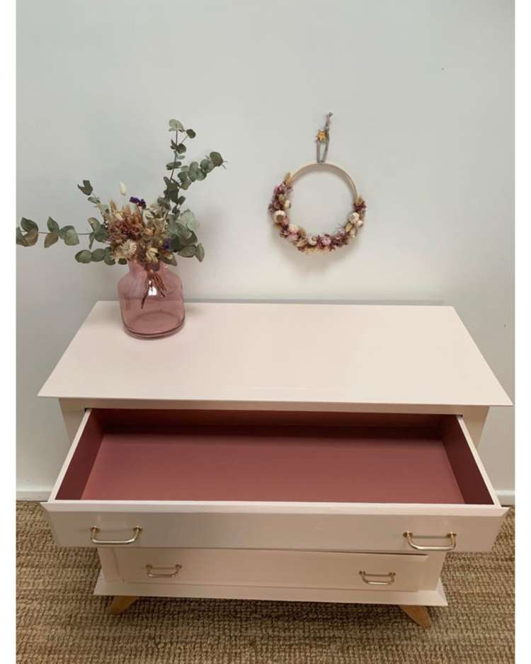 commode rose pale 1