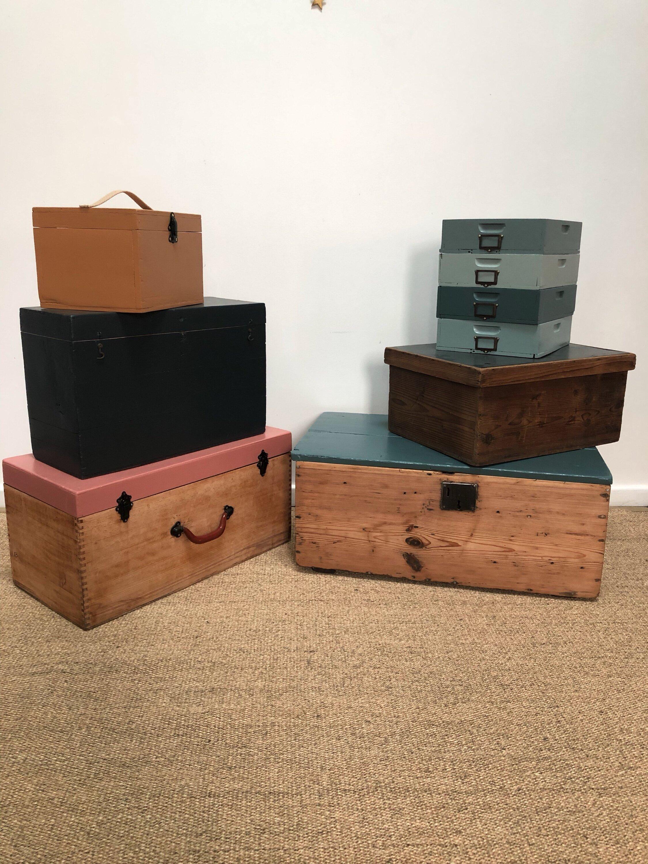 caisses et boites